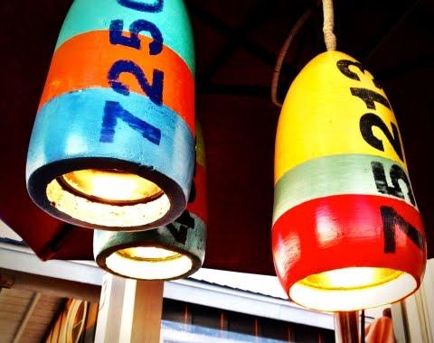 Nautical Buoy Hanging Light Pendants Diy Or Shop