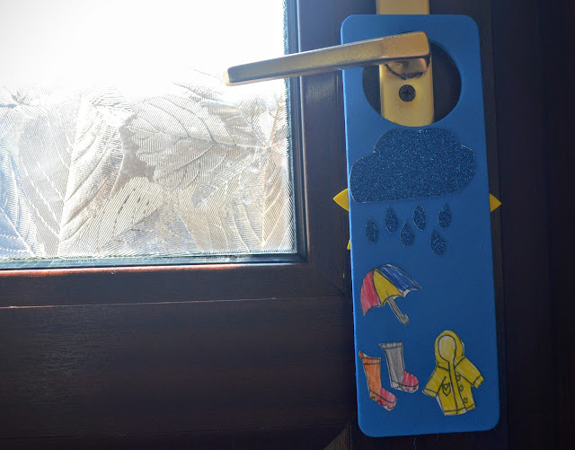 Weather Craft A Sunny and Rainy Day Weather Door Hanger