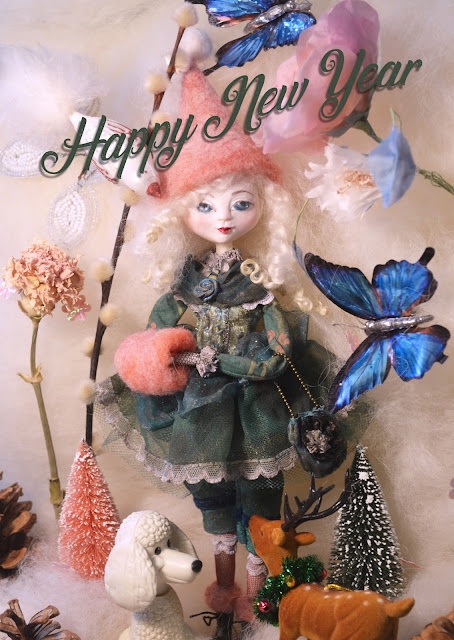Happy new year 2019 by Cathy Vagnon