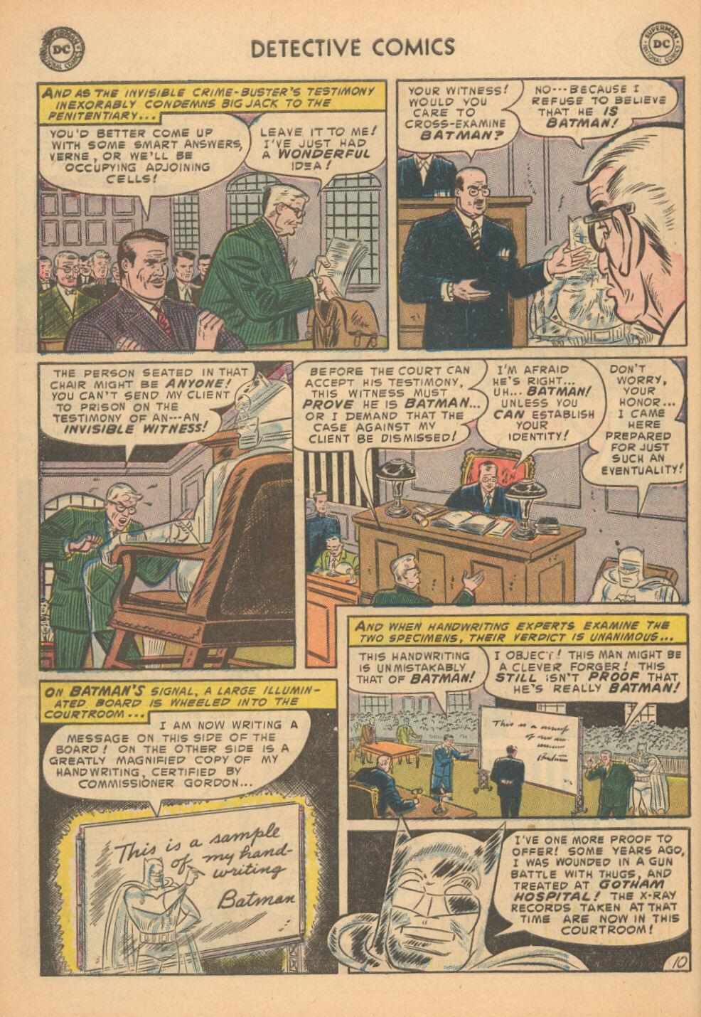 Detective Comics (1937) 199 Page 10