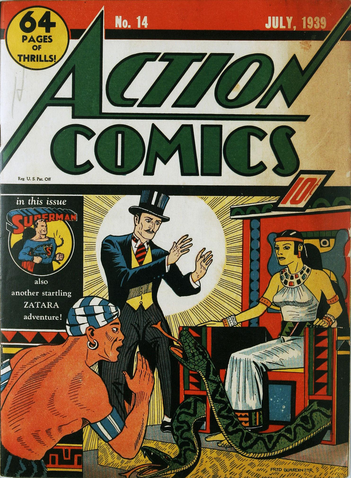 Action Comics (1938) 14 Page 1