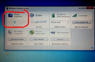 atur kecerahan brightness monitor windows 7 8 10