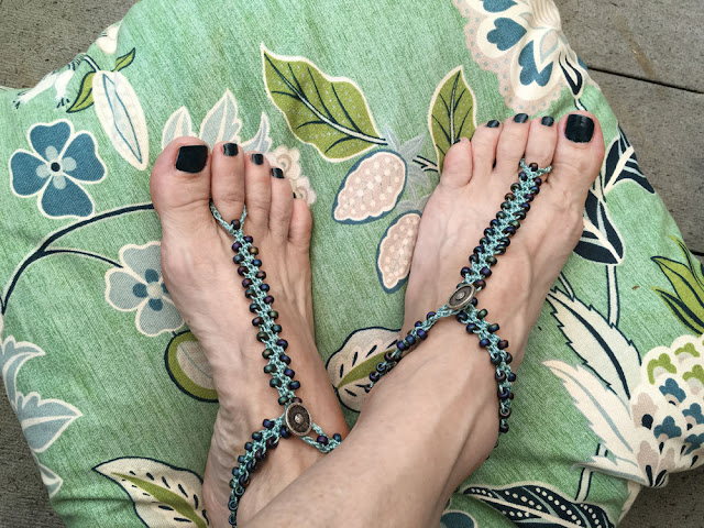 Barefoot Sandals - DIY Crochet Tutorial