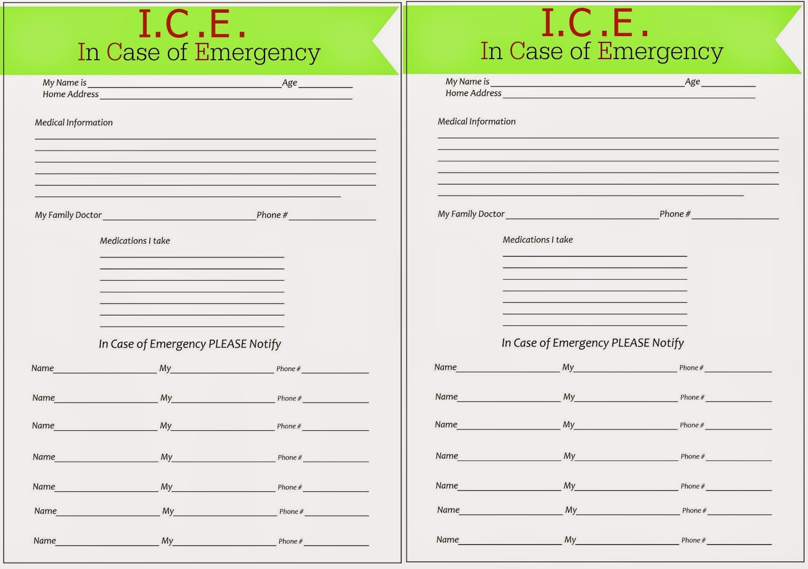 Welcome Ice Forms