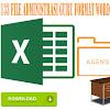 Berkas Guru 133 File Administrasi Guru Format Words dan Excel