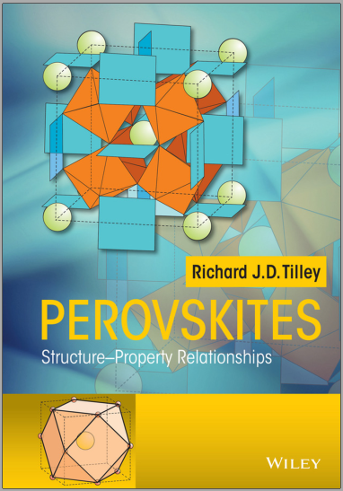 Book : Perovskites, Structure-Property Relationships - Richard J. D.Tilley PDF