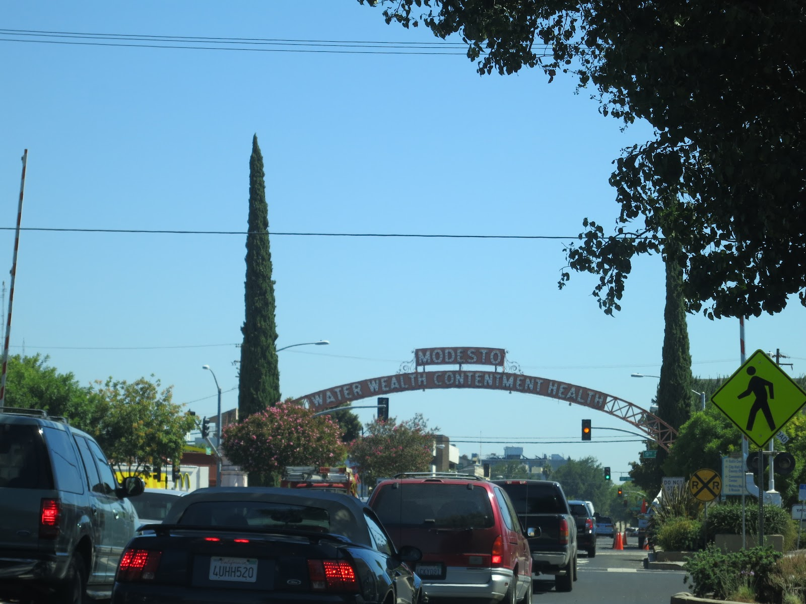 What is modesto famous for