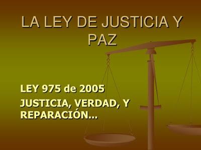 Carta dirigida al Comité Interinstitucional de Seguimiento a la Ley de Justicia y Paz