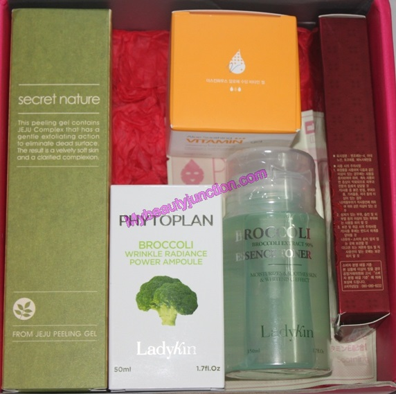 Memebox Special 20 Superfood beauty box review, unboxing