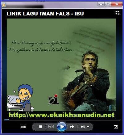 LIRIK LAGU IWAN FALS - IBU