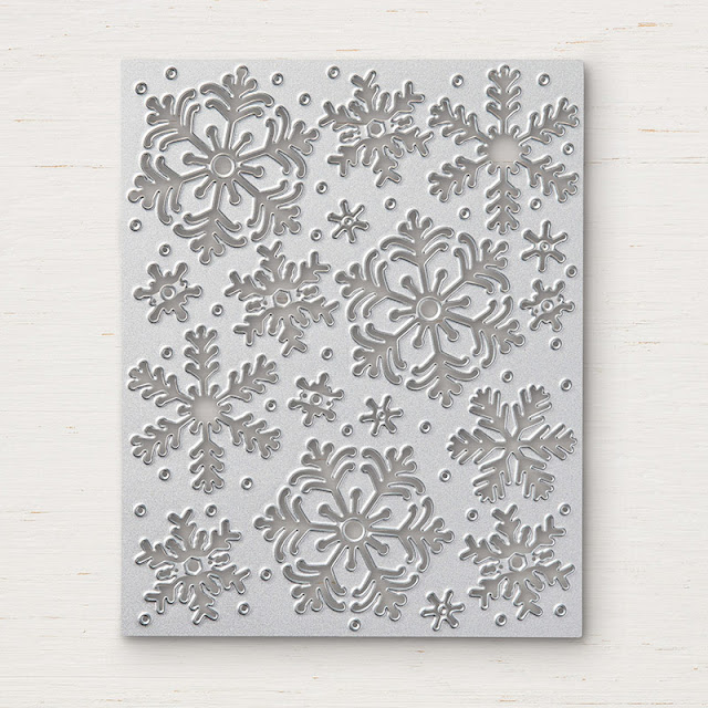 Blizzard thinlits die Stampin Up