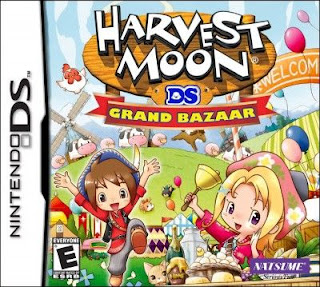 Harvest Moon DS: Grand Bazaar, NDS, Español, Mega, Mediafire