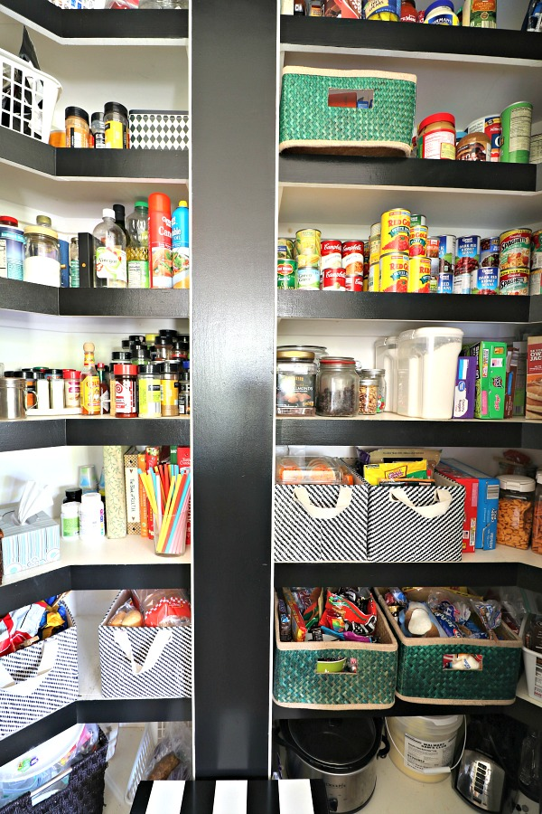 kitchen pantry, organization, holiday prep ideas