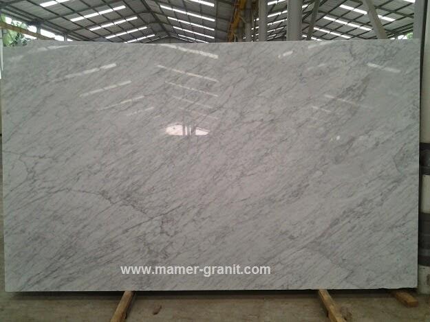 Marmer Putih New Statuario Marble