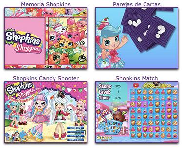 Todos los juegos online de Shopkins en español