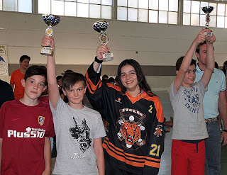 Hockey Línea Tigres Aranjuez
