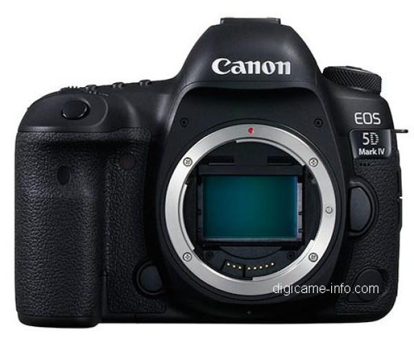 Fotografia della Canon EOS 5D Mark 4