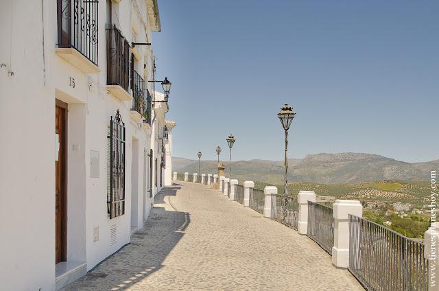 Priego de Córdoba balcón aldarve mirador andalucia