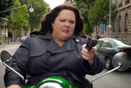 Spy Melissa McCarthy comedy movie