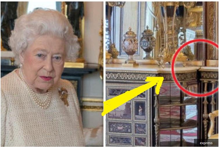 Waaw, Pintu Rahasia Ini Bikin Ratu Elizabeth II  Cepat Berpindah Ruangan