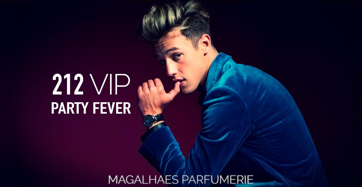 Novos 212 VIP Party Fever Para Ele E Para Ela. Olá cheirosos! Hoje vou  falar para vocês sobre duas novas fragrâncias de edição limitada de Carolina  Herrera. f87d33e61a