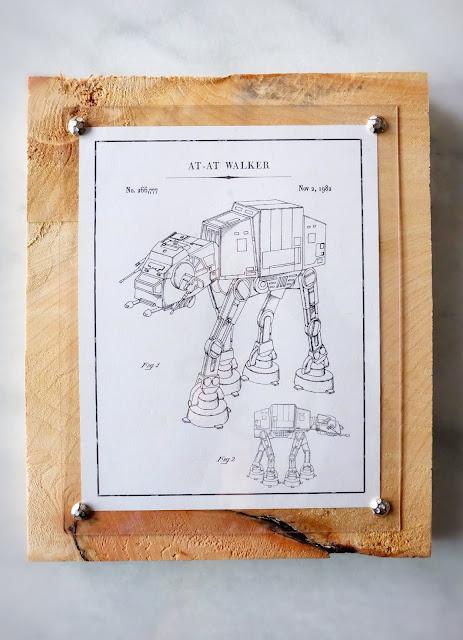 DIY wood craft panel furniture tacks acrylic sheet cheap easy