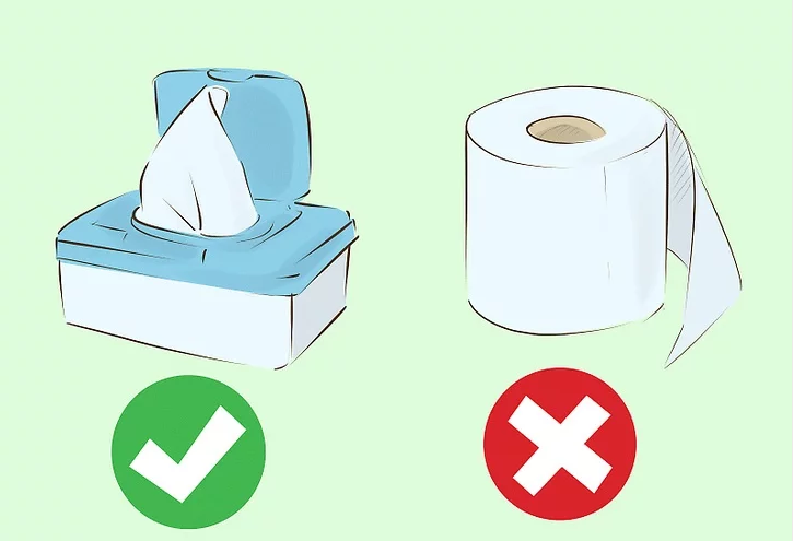 Wipes Instead Of Toilet Paper