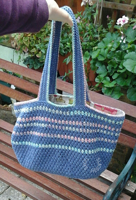 Tina's Allsorts, project bag