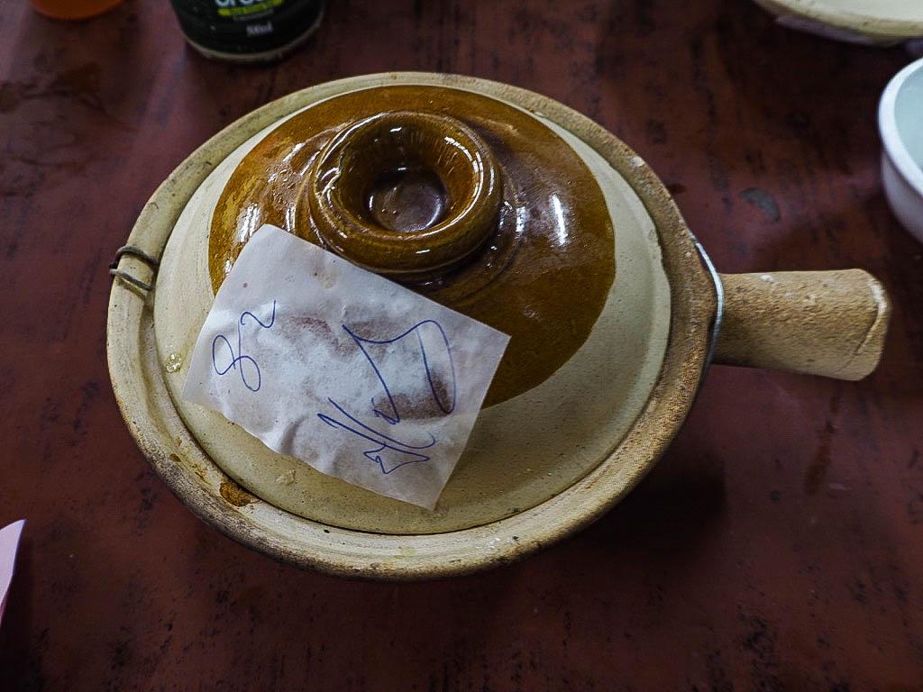 Claypot rice dish