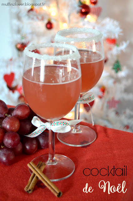 Recette facile cocktail de Noël - muffinzlover.blogspot.fr