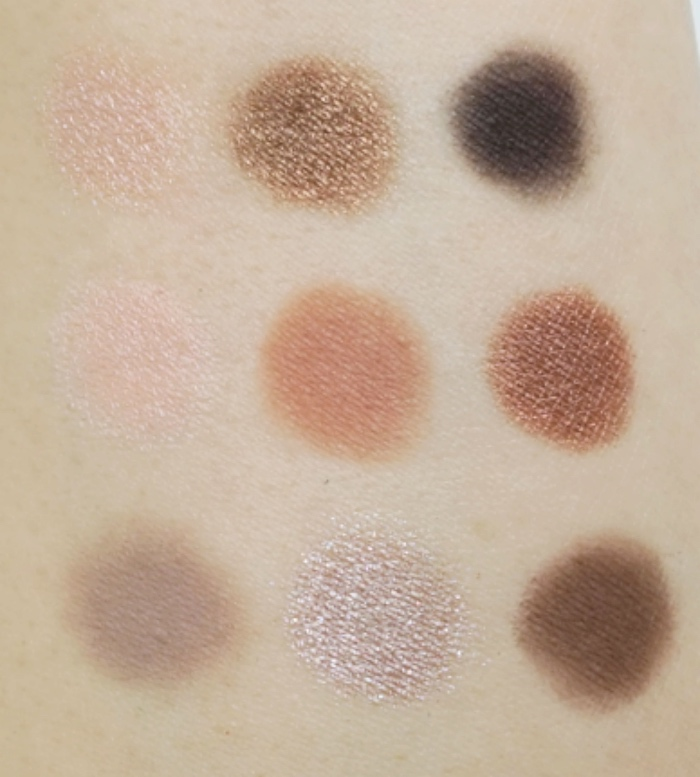 MAC Eyeshadow X 9 - Dusky Rose swatch