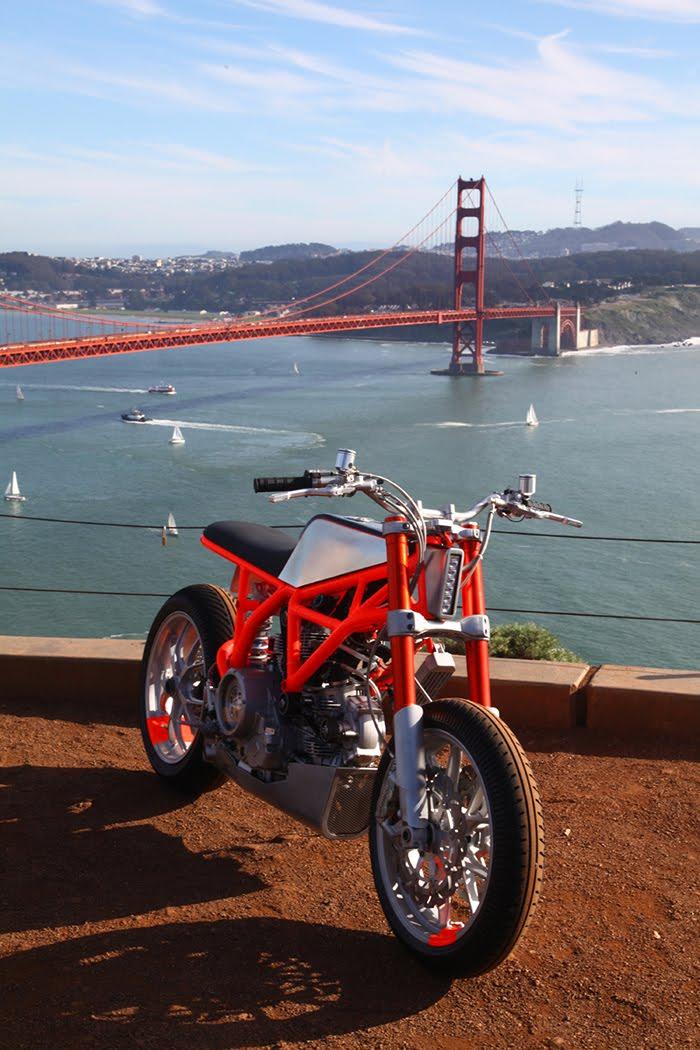 Ducati Hyper Scrambler San Francisco