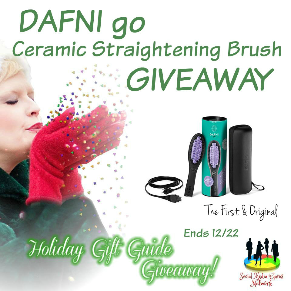 DAFNI Go Ceramic Straighening Brush