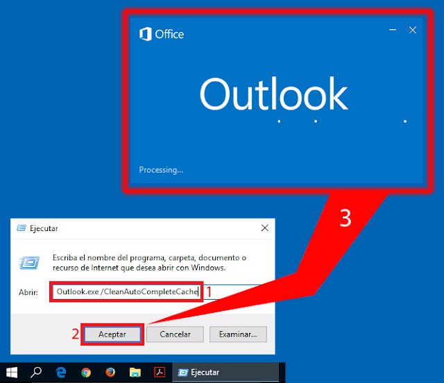 Outlook.exe /CleanAutoCompleteCache.