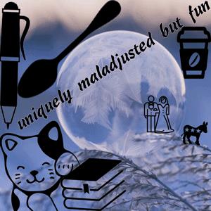 uniquelymaladjustedbutfun logo