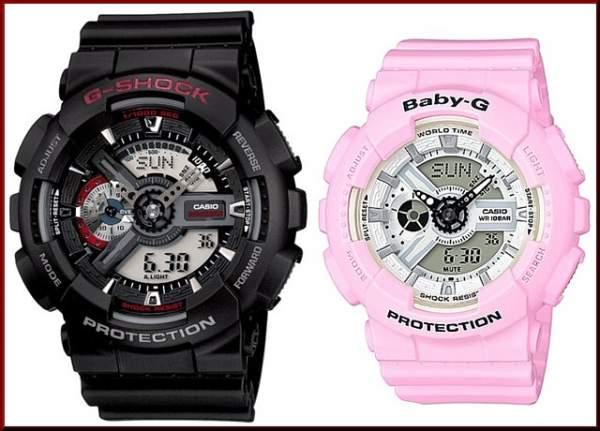 Perbedaan Casio G-Shock dan Baby-G