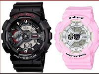 Perbedaan Antara Jam Tangan Casio G-Shock dan Baby-G