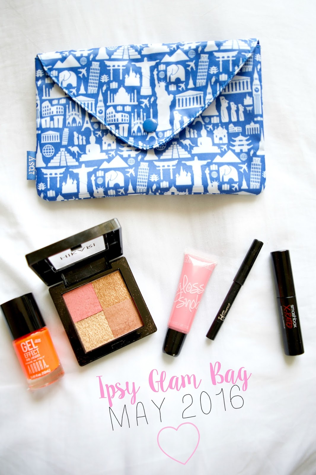 ipsy glam bag may 2016
