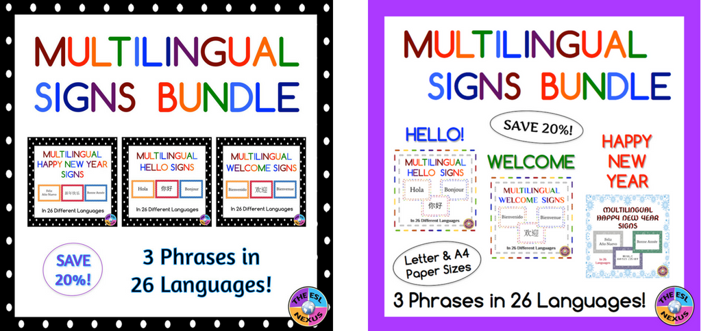 https://www.teacherspayteachers.com/Product/Multilingual-Welcome-Posters-For-Classroom-Decor-Polka-Dot-Theme-1376096?utm_source=My%20Blog&utm_campaign=MLSignsBundlePolkaDotThemeImage