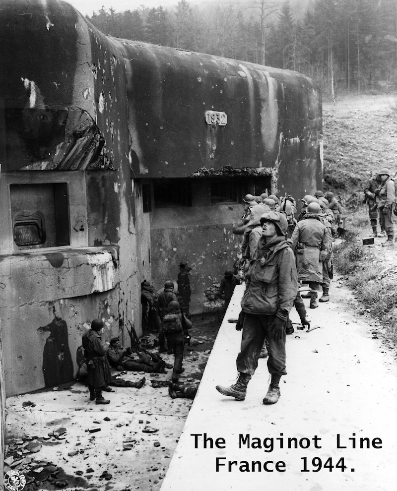 The Maginot Line, France 1944