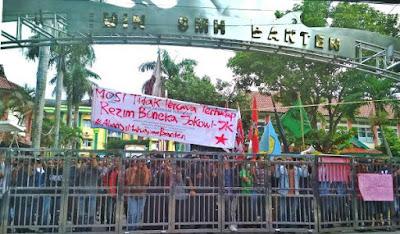 Ilusi Politik Jokowi Terhadap Rakyat Banten