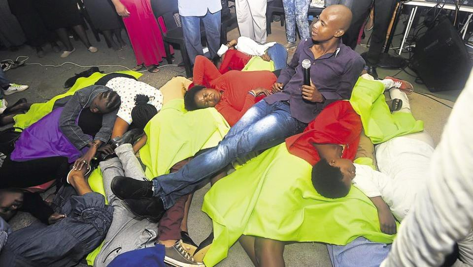 South African Pastor Who Strips His Congregation Beaten