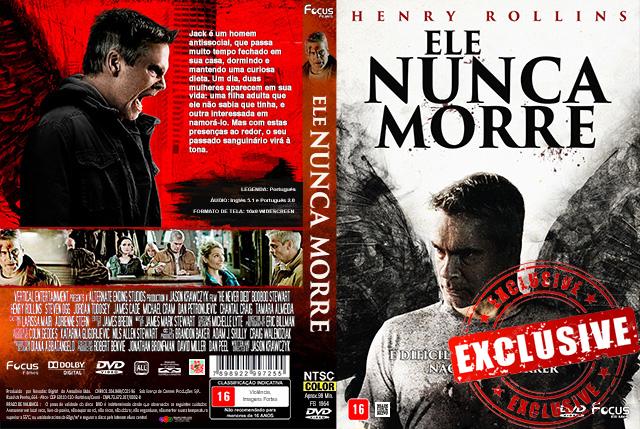 Ele Nunca Morre (2016) DVD-R OFICIAL
