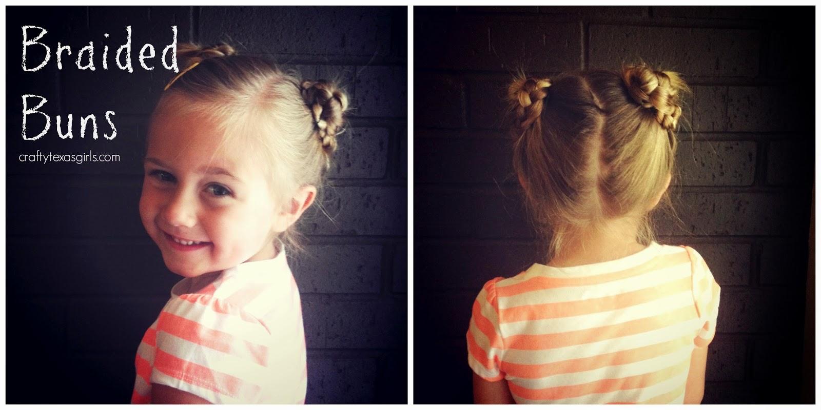 Crafty Texas Girls 5 Creative Hairstyles For Girls
