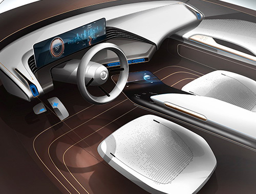 Tinuku.com Mercedes-Benz Generation EQ concept confirms future electric car brand
