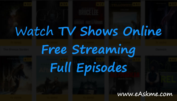 watch arrow tv series online for free