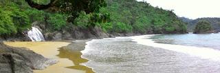 Pantai Banyu Anjlok di Malang Jawa Timur