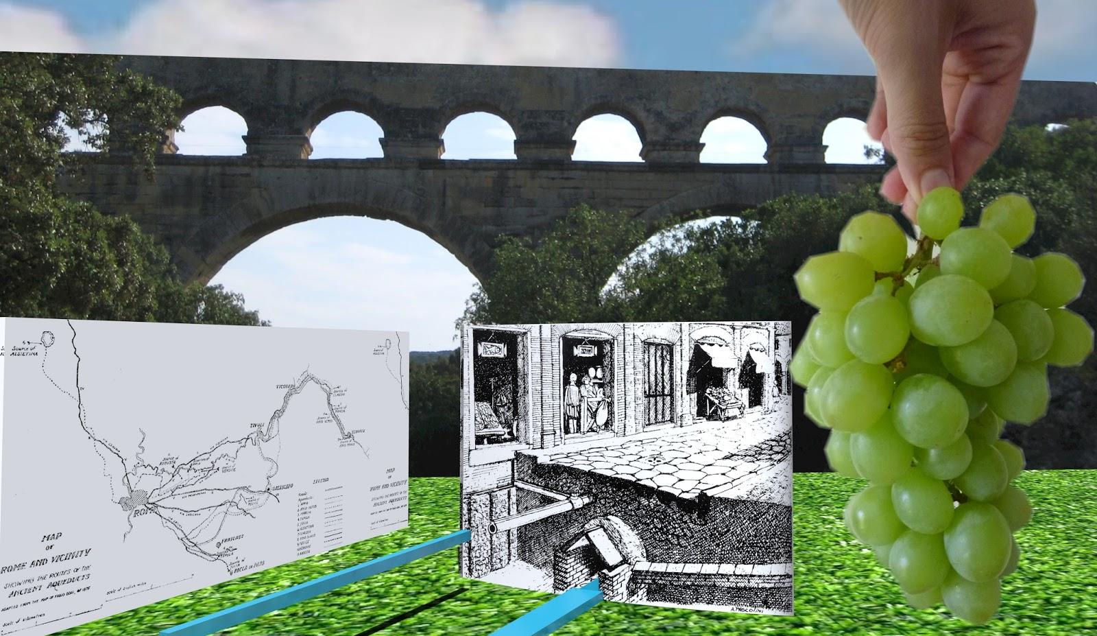 Römer, Kelten und Germanen: De aquis et vino: Trinkwasserversorgung ...