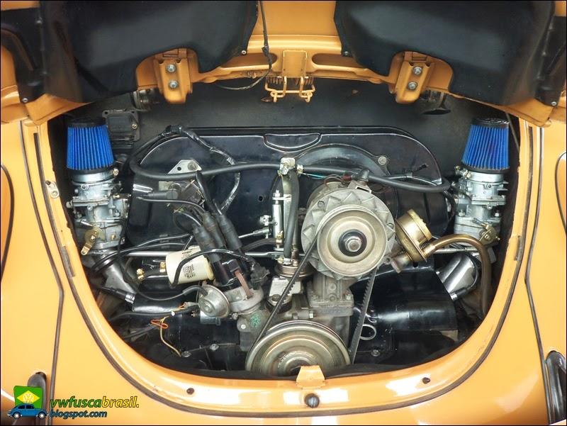 VW Fusca Brasil: Carburação: simples x dupla