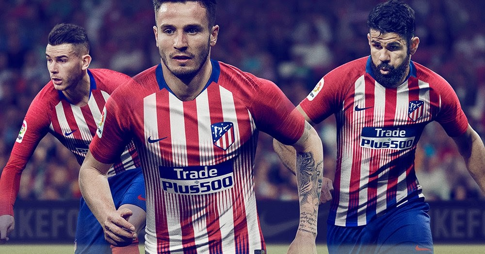 Atletico Madrid 18-19 Home Kit Released - Footy Headlines a7eb10a6f5c